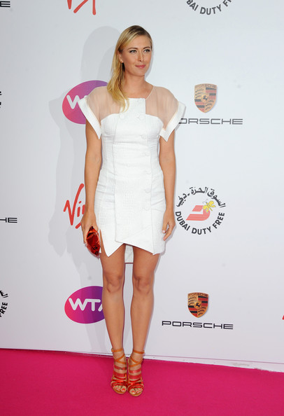 Maria Sharapova - Arrivals at the Pre-Wimbledon Party