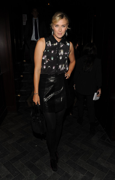 "Maria Sharapova - The Cinema Society & DKNY Jeans Host A Screening Of ""Due Date"" - After Party"