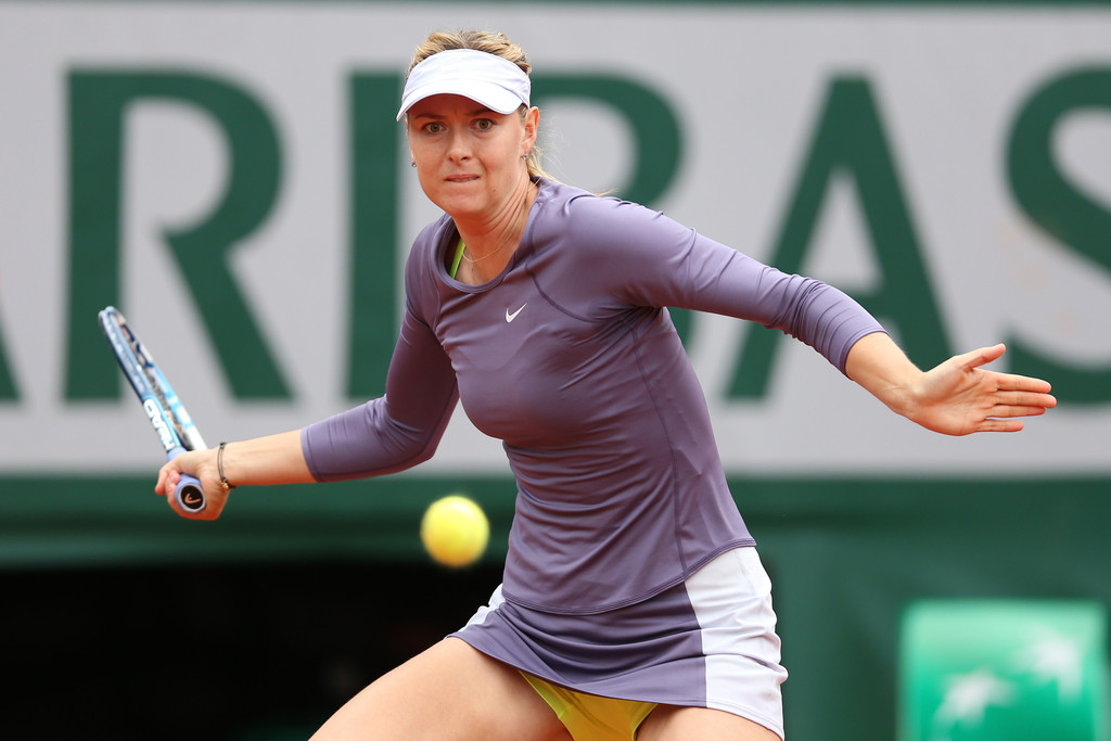 Maria Sharapova - French Open: Day 6