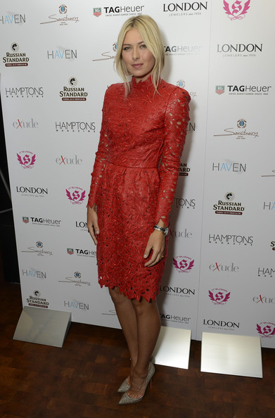 Maria Sharapova - Hamptons Magazine Celebrates Cover Star Maria Sharipova At The Haven Rooftop At The Sanctuary Hotel