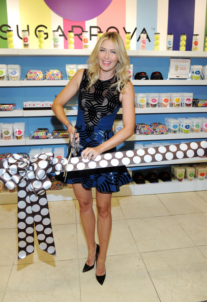 "Maria Sharapova - International Tennis Sensation Maria Sharapova Celebrates One Year Anniversary Of Sugarpova By Launching ""Sugarpova Accessory Collection"" Exclusively At Henri Bendel"