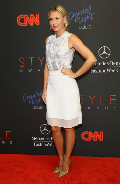 Maria Sharapova - MBFW: Arrivals at the Style Awards