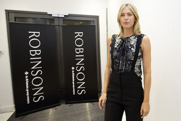 Maria Sharapova - Maria Sharapova Launches 'Sugarpova' Sweets