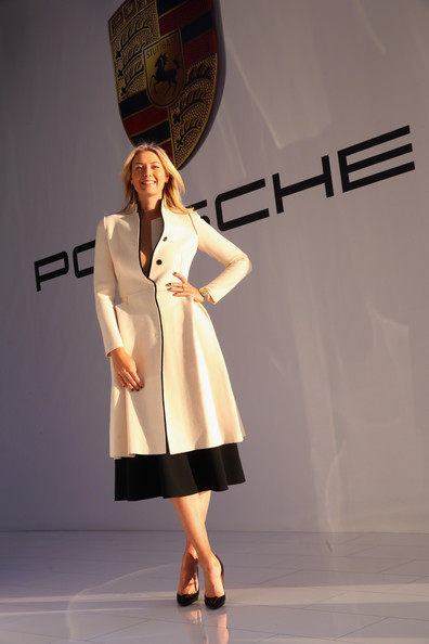 Maria Sharapova - Maria Sharapova Loves Her New Porsche
