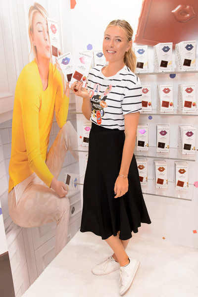 Maria Sharapova Sugarpova Chocolate Launch At The Chicago Sweets & Snacks Expo