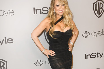 Mariah Carey Warner Bros. Pictures And InStyle Host 19th Annual Post-Golden Globes Party - Arrivals