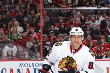 Marian Hossa Chicago Blackhawks v Ottawa Senators