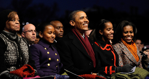 National Christmas Tree Lighting Ceremony Held On DC's Ellipse (Marian ...