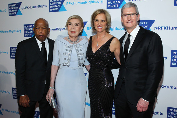 Robert F. Kennedy Human Rights Hosts Tthe 2015 Ripple of Hope Awards [roger altman,tim cook,john lewis,marianna vardinoyannis,robert f. kennedy human rights hosts,ambassador,event,award,premiere,white-collar worker,ripple of hope awards,apple,evercore,unesco]
