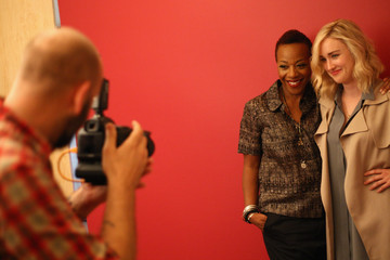Marianne Jean-Baptiste Behind The Scenes Of The Getty Images Portrait Studio Powered By Samsung Galaxy At 2015 Summer TCA's