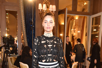 Marie-Ange Casta 'Chanel Collection des Metiers d'Art 2016/17 : Paris Cosmopolite': Photocall At Hotel Ritz