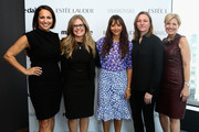 Marie Claire's Editor-in-Chief Anne Fulenwider, Screenwriter and director Jennifer Lee, Rashida Jones, VP of Original Content, Netflix Cindy Holland and VP, Publisher, Marie Claire Nancy Cardone attend Marie Claire's Second-Annual New Guard Lunch at Hearst Tower on October 30, 2014 in New York City.