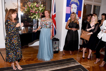 Marigay McKee Celebrating 'Vogue - Voice of a Century' With Genesis Publications and Alexandra Shulman of British Vogue
