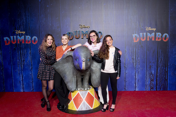 Photocall At Special Screening Of Tim Burton's 'Dumbo' In Madrid