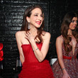 Marin Hinkle The American Heart Association's Go Red For Women Red Dress Collection 2020 - Backstage