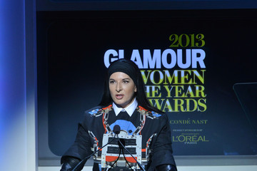 Marina Abramovic Inside the Glamour Honors the Women of the Year