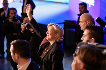 Marine Le Pen French Presidential Elections - The March Of The Far Right