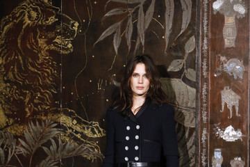 Marine Vacth Chanel Metiers D'Art 2019-2020 : Photocall At Le Grand Palais