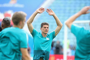 Mario Gomez Germany Training And Press Conference