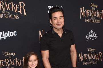 Mario Lopez Stars Of Disney's 'The Nutcracker And The Four Realms' Attend The World Premiere At Hollywood's El Capitan Theatre