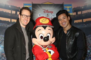 Mario Lopez Disney on Ice Presents Worlds of Enchantment Celebrity Guests (STAPLES Center Los Angeles)