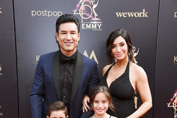 Mario Lopez Dominic Lopez 46th Annual Daytime Emmy Awards - Arrivals
