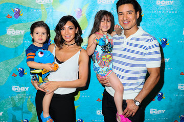 Mario Lopez Gia Lopez 'Finding Dory' Collection by Trina Turk Event