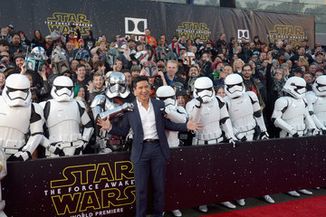 Mario Lopez Premiere of 'Star Wars: The Force Awakens' - Red Carpet