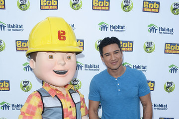 Mario Lopez Mario Lopez and Bob the Builder Help Habitat for Humanity Build Home for Los Angeles Family