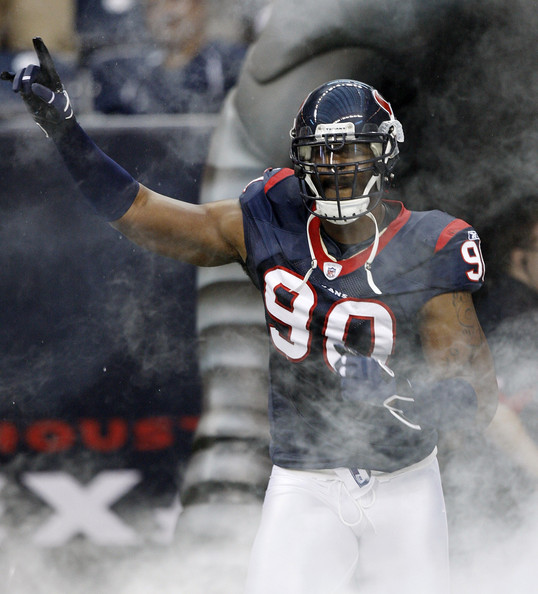 Mario Williams - <a class='sbn-auto-link' href='http://www.sbnation.com/nfl/teams/dallas-cowboys'>Dallas Cowboys</a> v <a class='sbn-auto-link' href='http://www.sbnation.com/nfl/teams/houston-texans'>Houston Texans</a>