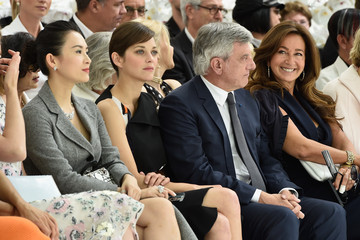 Marion Cotillard Front Row at Christian Dior