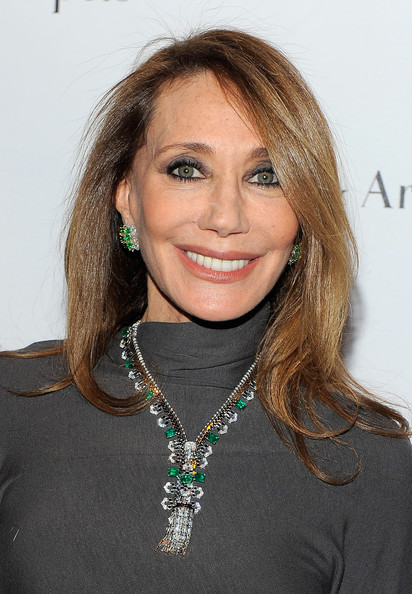 """Set In Style: The Jewelry Of Van Cleef & Arpels"" Opening Gala [set in style,beauty,eyebrow,hairstyle,chin,long hair,smile,jewellery,blond,fashion model,brown hair,marisa berenson,model,new york city,the jewelry of van cleef arpels,cooper-hewitt national design museum,gala,gala]"