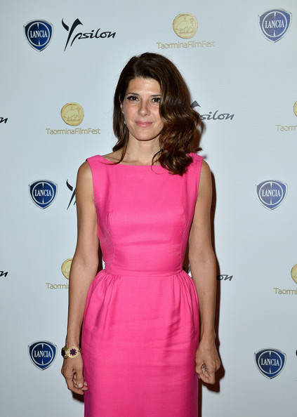 Celebrities At The Lancia Cafe - Day 8 - Taormina Filmfest 2013