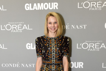 Marissa Mayer Glamour Women Of The Year 2016 LIVE Summit - Backstage