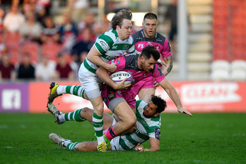 Mark Atkinson Gloucester Rugby Vs. Newcastle Falcons - European Challenge Cup Semi-Final