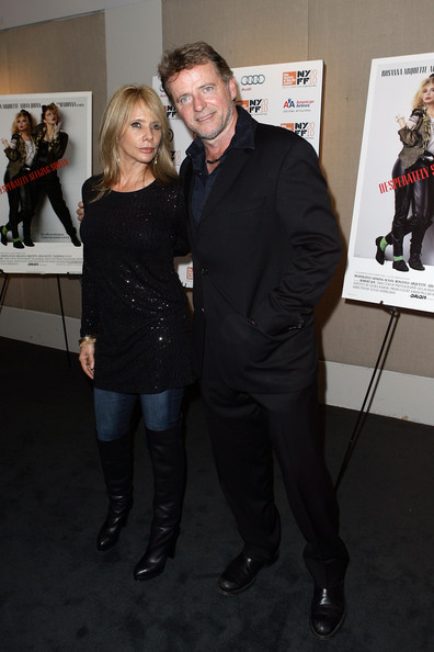 Mark blum mark blum and rosanna arquette attend the desperately