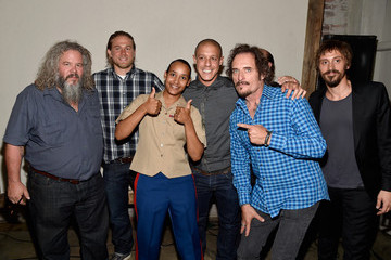 Mark Boone Junior Theo Rossi 'Sons of Anarchy' Cast Hosts a Boot Bash