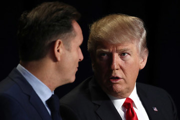 Mark Burnett Trump Attends National Prayer Breakfast