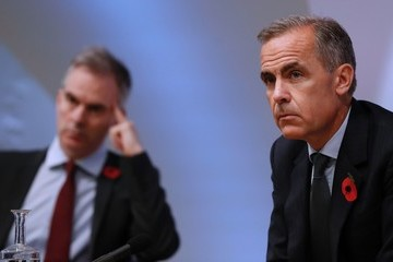 Mark Carney Bank of England Governor Mark Carney Presents the Quarterly Inflation Report at a News Conference