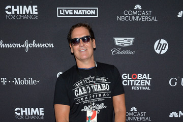 Mark Cuban 2017 Global Citizen Festival: For Freedom. For Justice. For All. - VIP Lounge