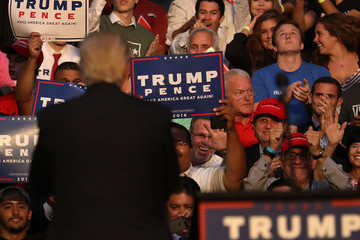 Mark Foley Donald Trump Campaigns in Fort Lauderdale