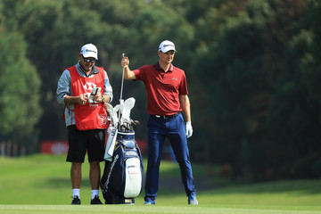 Mark Fulcher WGC - HSBC Champions - Day One