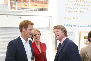 Mark Getty Prince Harry Gives a Speech in London