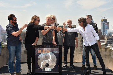 Mark Goodman REO Speedwagon Receives RIAA Diamond Award for 'Hi Infidelity'