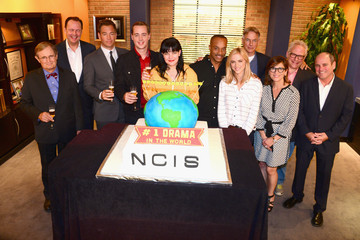 Mark Harmon 'NCIS' Cast and Crew Throw a Party