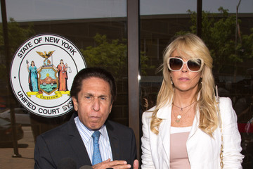 Mark Heller Dina Lohan's Court Appearance