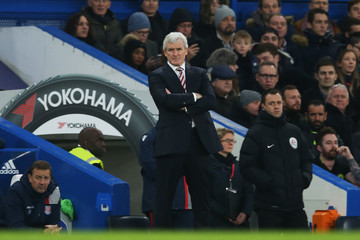 Mark Hughes Chelsea v Stoke City - Premier League