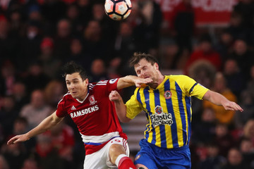 Mark Hughes Middlesbrough v Accrington Stanley - The Emirates FA Cup Fourth Round