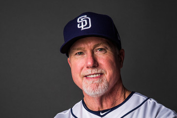 Mark McGwire San Diego Padres Photo Day