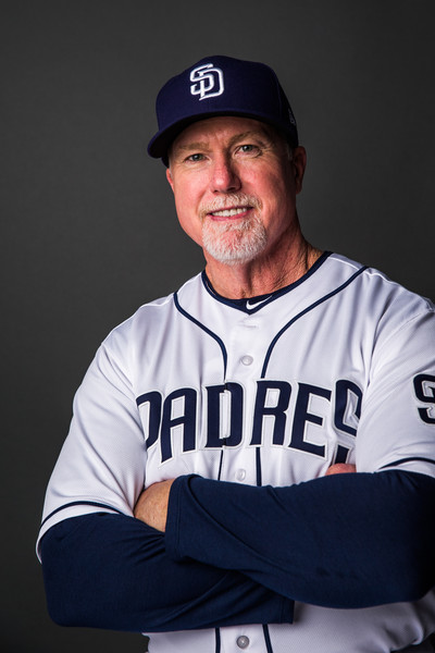 Mark Mcgwire Photos Photos San Diego Padres Photo Day